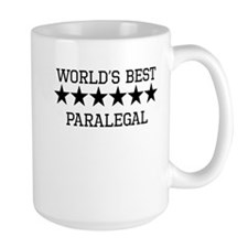 Worlds Best Paralegal Mugs
