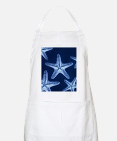 beach blue starfish Apron