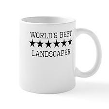 Worlds Best Landscaper Mugs