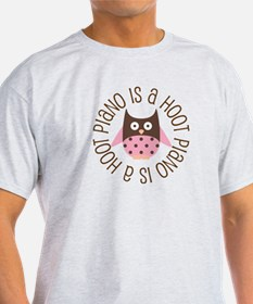 Piano Is A Hoot T-Shirt