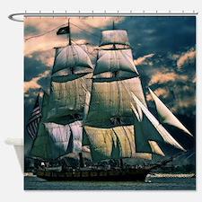 Sailing Vessel Shower Curtain