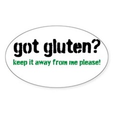 Cute Gluten free Decal