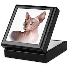 Cat 578 sphinx Keepsake Box