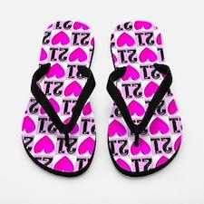 Loving 21st Flip Flops