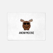 Anonymoose 5'x7'Area Rug