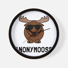 Anonymoose Wall Clock