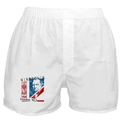 Worn British Churchill Bar Boxer Shorts