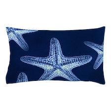 beach blue starfish Pillow Case