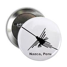 "Hummingbird Nazca, Peru 2.25"" Button"