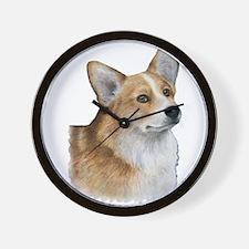 Dog 89 Corgi Wall Clock