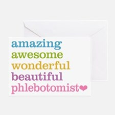 Cute Phlebotomy Greeting Card