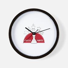Chess Mates Wall Clock