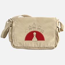 Chess Pieces Messenger Bag