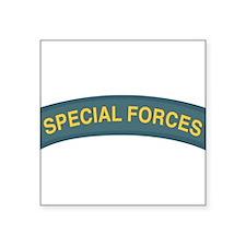 "Unique Army special forces Square Sticker 3"" x 3"""