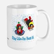 Penguin Mug, Large: Play Like You Mean It!
