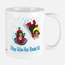 Penguin Mug: Play Like You Mean It!