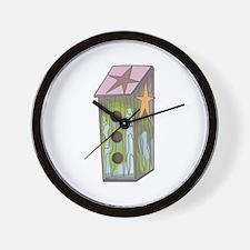 COUNTRY BIRDHOUSE Wall Clock