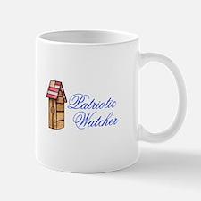 PATRIOTIC WATCHER Mugs