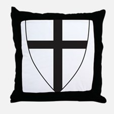 Coat of arms of the Teutonic Order Throw Pillow