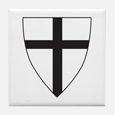 Coat of arms of the Teutonic Order Tile Coaster