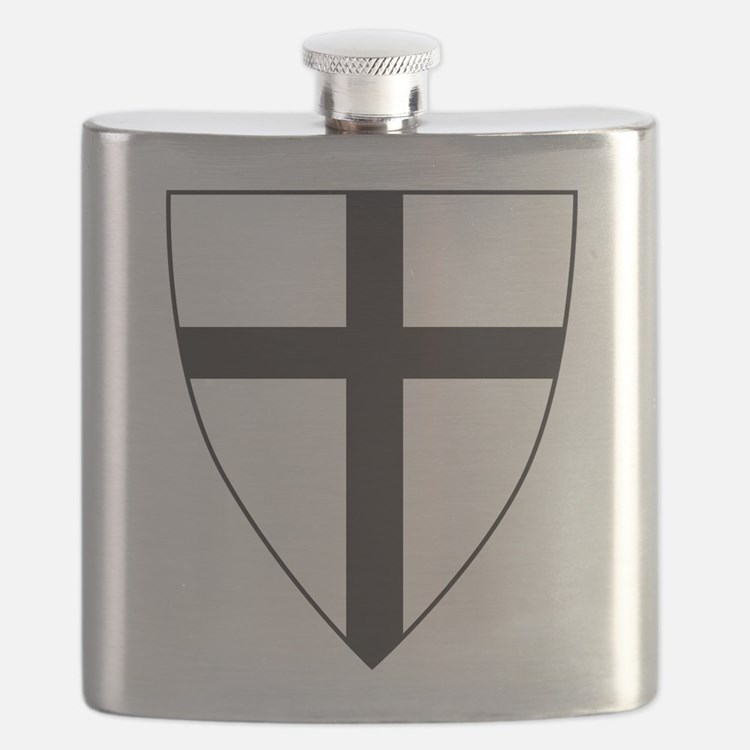 Coat of arms of the Teutonic Order Flask