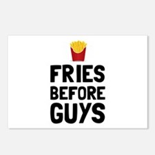 Fries Before Guys Postcards (Package of 8)