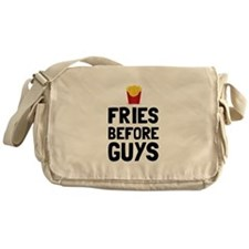 Fries Before Guys Messenger Bag