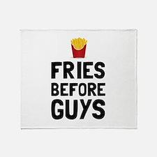 Fries Before Guys Throw Blanket