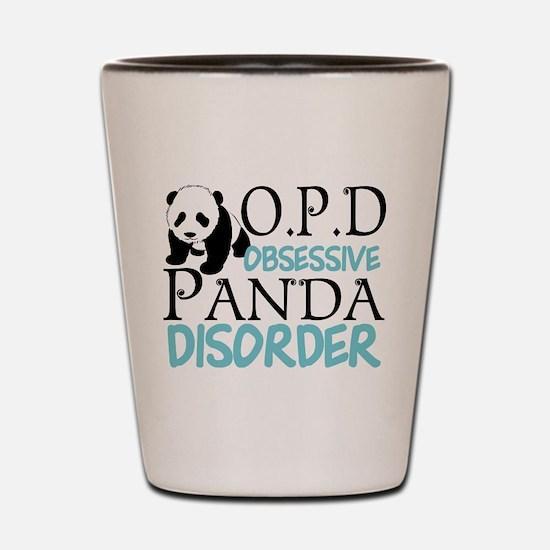 Cute Panda Shot Glass