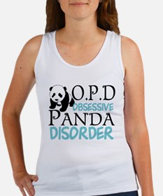 Cute Panda Women's Tank Top
