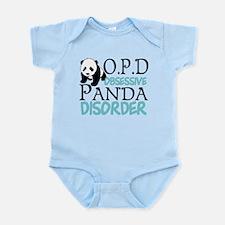 Cute Panda Infant Bodysuit
