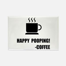 Happy Pooping Coffee Magnets