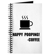 Happy Pooping Coffee Journal