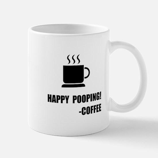 Happy Pooping Coffee Mugs