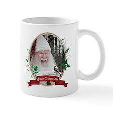 Santa & Chickadee Mugs