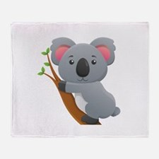 Koala Bear Throw Blanket