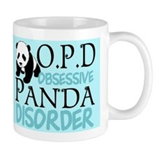 Cute Panda Small Mugs