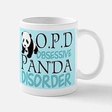 Cute Panda Small Mugs