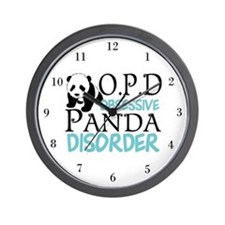 Cute Panda Wall Clock