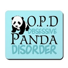 Cute Panda Mousepad