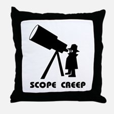Scope Creep Throw Pillow