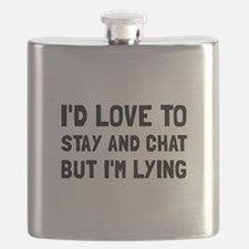 Stay Chat Lying Flask