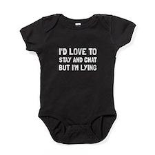 Stay Chat Lying Baby Bodysuit