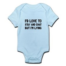 Stay Chat Lying Body Suit