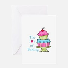The Joy Of Baking Greeting Cards