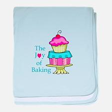 The Joy Of Baking baby blanket