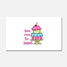 Save Room For Dessert Car Magnet 20 x 12