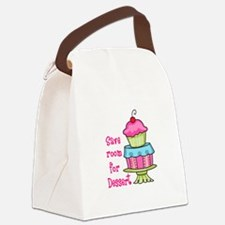 Save Room For Dessert Canvas Lunch Bag