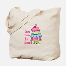 Save Room For Dessert Tote Bag