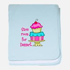 Save Room For Dessert baby blanket